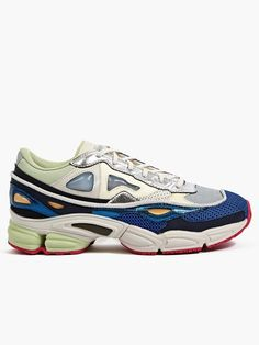 Adidas Originals x Raf Simons Men's Multicolour Ozweego 2 Sneakers | oki-ni
