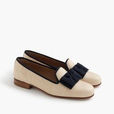 Stubbs & Wootton® raffia slippers