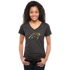 Women's Carolina Panthers Cuce Black Sideliner II Crew Sweatshirt ...