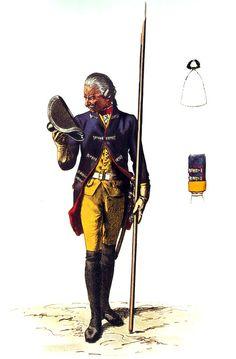 SOLDIERS- Menzel: SYW- Prussia: Prussian Infantry Regiment von Pannwitz No 10, by Adolph Menzel.