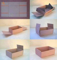 Aprenda a fazer uma caixa                                                                                                                                                     Mais
