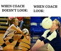 This should be when parents dont look: vs. when parents do look: This should be when parents dont look: vs. when parents do look:,Memes. This should be when parents dont look: vs. when parents. Volleyball Jokes, Volleyball Training, Volleyball Workouts, Volleyball Drills, Volleyball Gifts, Coaching Volleyball, Volleyball Motivation, Volleyball Setter, Fitness Workouts