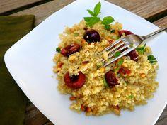 Sweet Cherry & Quinoa Pilaf
