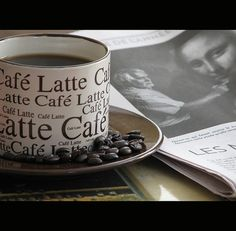 .coffee and the paper nothing better