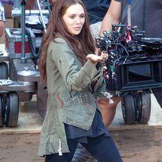 Captain America Civil War Elizabeth Olsen Jacket