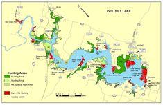 Lake Whitney Tourist Map - Lake Whitney • mappery