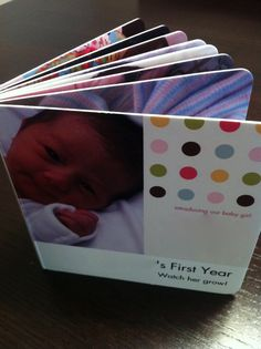 Personalized baby board book from www.pintsizeproductions.com