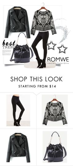 """Romwe no.5"" by almamehmedovic-79 ❤ liked on Polyvore"