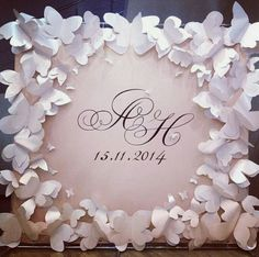 This would be a cool guest book craft...