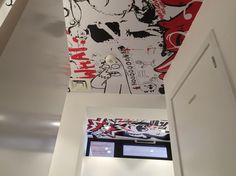Design by Fly - Plafond toilettes stickers