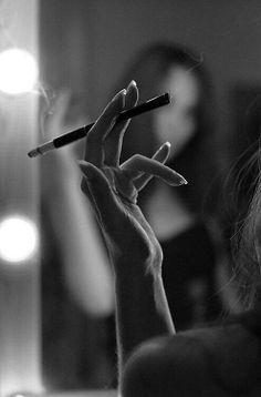 mood, hands, cigarette, silhouet, gloomy, moody, gesture, strong, photo b/w.