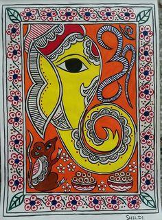 Madhubani ganesha