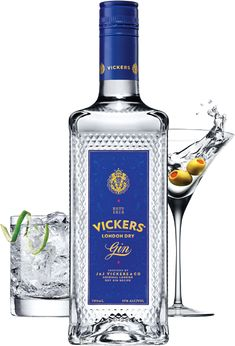 Vickers Gin is an unquestionable classic. Dressed up or down. Boldly accessorized in a cocktail. Elegantly minimalist in a martini or gin and tonic.
