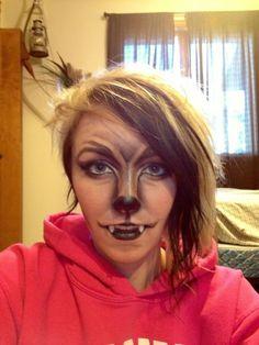 werewolf makeup for Halloween! Bat Makeup, Costume Makeup, Ideas Maquillaje Carnaval, Halloween Fun, Halloween Costumes, Teen Costumes, Woman Costumes, Couple Costumes, Pirate Costumes