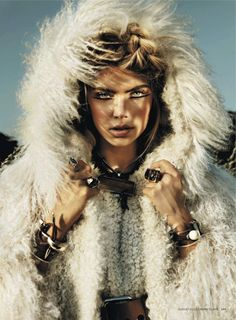 visual optimism; daily fashion fix.: into the wild: emily senko by rennio maifredi for us marie claire august 2012