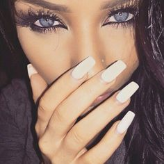 girl beauty fashion outfit clothes style hair lips eyes brows make up Gorgeous Eyes, Gorgeous Makeup, Love Makeup, Beautiful Eyelashes, Makeup On Fleek, Flawless Makeup, Hair Makeup, All Things Beauty, Beauty Make Up