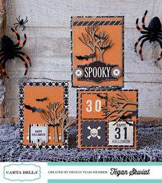 """All Scrapbook Steals - The Blog: Carta Bella """"Spooky"""""""