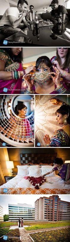 Real Indian Wedding Reception: Shahrina & Abhishek | Story Motion Studios