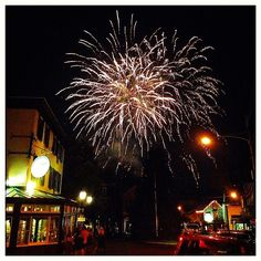 """Fireworks over New Hope captured by @_lisah on Instagram as part of our """"Capture Your #BucksCountyMoment"""" photo contest."""