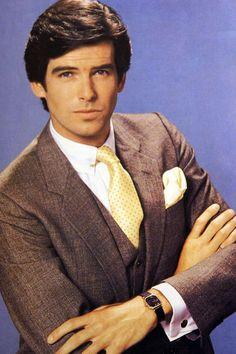"Pierce Brosnan as: Remington Steele from the famous 80's TV Show ""Remington Steele"""