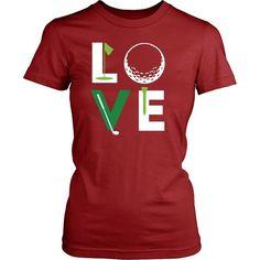 Golf T Shirt - Golfer Love