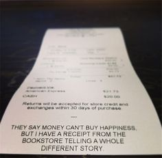 books equal happiness