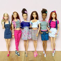 Today's outfit selection #barbie #barbiedoll #barbiecollector #barbiemadetomove…
