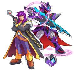 Commission: Megaman Model N-L by ultimatemaverickx on DeviantArt Elsword, Samurai Warriors Anime, Heroes United, Megaman Series, Heroes Reborn, Phoenix Art, Game Concept Art, Robot Art, Digimon