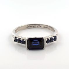 and by Aimee Winstone Designer Engagement Rings, Engagement Ring Settings, Cultural Patterns, Sweet Little Things, Bespoke Jewellery, Laser Engraving, Sapphire, Gifts For Her, Handmade Jewelry