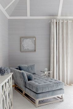 Beautiful light grey sofa for relaxing and napping || @pattonmelo