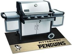The Pittsburgh Penguins Grill Mat