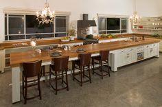 long kitchen ideas | long, long kitchen island