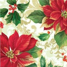 Poinsettia Parade Luncheon Napkins 18 Per Pack by Creative Converting. $3.89. Design is stylish and innovative. Satisfaction Ensured.. Manufactured to the Highest Quality Available.. Creative Converting is a leading manufacturer and distributor of disposable tableware including high-fashion paper napkins plates cups and tablecovers in a variety of solid colors and designs appropriate for virtually any event
