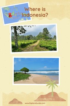 Where is Indonesia? | An introduction to the beautiful tropical country in the South East Asia | #ExploreSunda Strait Of Malacca, Timor Leste, Tropical Beaches, Top Destinations, World Trade, View Map, Big Island, Archipelago, Countries Of The World