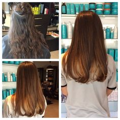 A beautiful Ombre thanks to the talented Master Stylist Mandy Morris. Nice work Mandy!