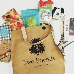 It's a Thanksgiving Treat giveaway! During this week of giving thanks we are very thankful for all of our customers! And one lucky customer will win our Two Friends Tote stuffed with our favorites. Keep for yourself or stuff someone's stocking! For a chance to win: Follow @twofriends_stsimons Like this post and Tag two friends! Good luck and Happy Thanksgiving! #tfssi #stsimonsisland #seaisland #thanksgiving #giveaway #tagtwofriends #shopsmall #supportlocal #smallbusinesssaturday…