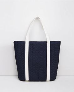 Quilted Mesh Tote Bag by Tsumori Chisato