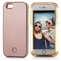 Okay, first of all who DOESN'T love rose gold? but second of all this cute phone case LIGHTS UP like how amazing is that! Over 100 Gifts For Teen Girls - The ONLY Gift Guide You Need -