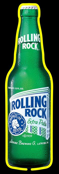 1000+ images about Rolling Rock Neon Beer Signs & Lights
