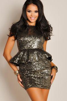 Classy Sequin Skirt  b44cf2956