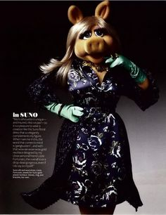 Gorgeous Glam: Alter Ego -Miss Piggy