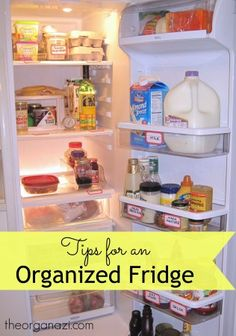 Refrigerator Organization Strategies ← The Organazi
