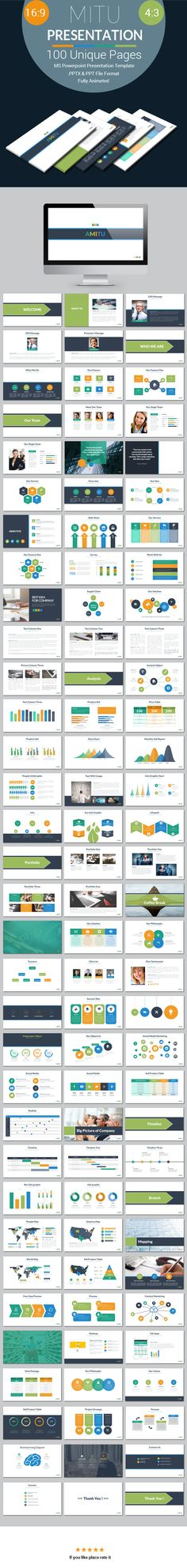 Mitu Powerpoint Presentation Template - PowerPoint Templates Presentation Templates