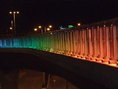 Haifa Bridge - Haifa, Israel Showcase - Traxon Technologies