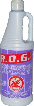 Amazon.com: Bathtub Cleaner Express ROG 1 Tub and Shower Cream Cleaning Solution: Health & Personal Care