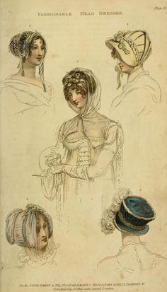 Ackermann's Repository Fashions 1809