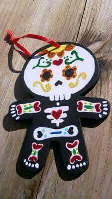 Calaveritas coloridas, mexican style