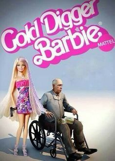 Gold Digger Barbie Now? My Childhood Is Ruined lol Mattel Barbie, Bad Barbie, Barbie Barbie, Barbie Stuff, Humor Barbie, Barbie Funny, Barbie Mala, Avakin Life, Real Life