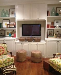 Entertainment centre for family room.