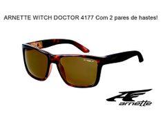 O que você acha de poder trocar as hastes do seu óculos de sol quando tiver vontade? Pois a marca californiana Arnette lançou o Arnette Witch Doctor, um óculos de sol em formato clássico que vem com 2 pares de hastes para você usar como quiser!  Descolado e disponível em nosso e-shop com frete grátis (PAC) para a região sudeste! http://produto.mercadolivre.com.br/MLB-546616101-oculos-de-sol-arnette-witch-doctor-frete-gratis-sudeste-_JM